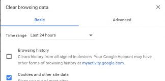 How to Clear Cache, Cookies and History