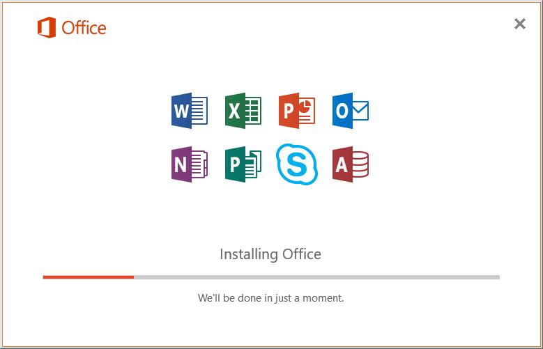 Office 2019 Installing