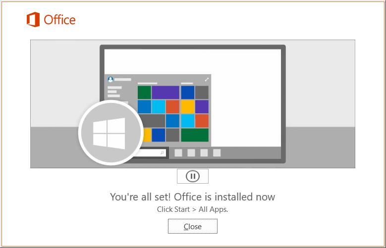 Office 2019 Install
