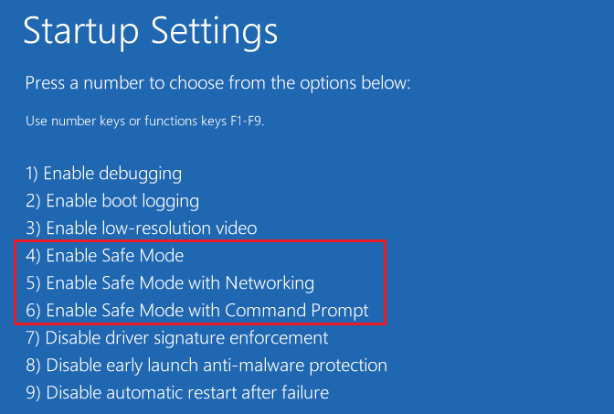 2 Ways to Boot into Safe Mode in Windows 10