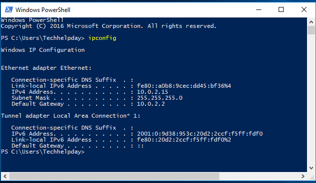 How to Open Windows PowerShell in windows 10