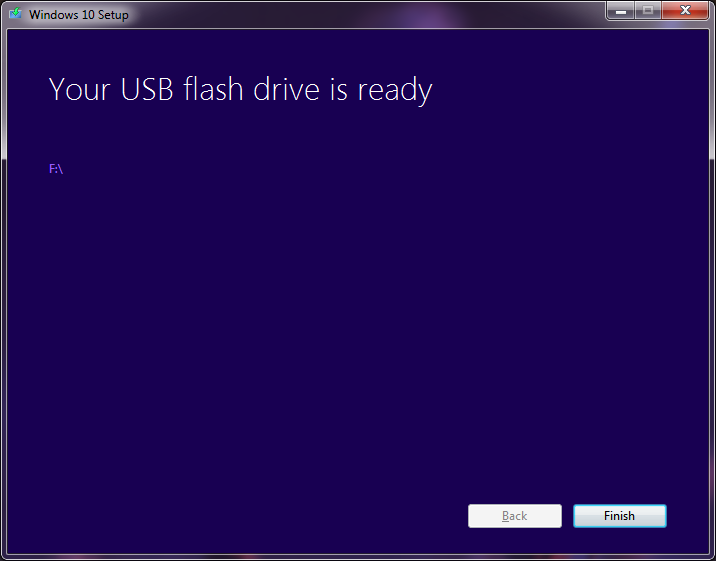 Install Windows 10 From a USB Drive