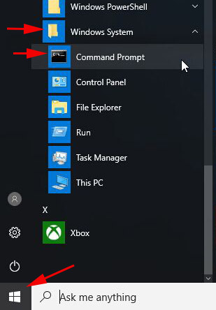 How to Open Command Prompt