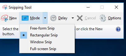 Take a Screenshot in Windows
