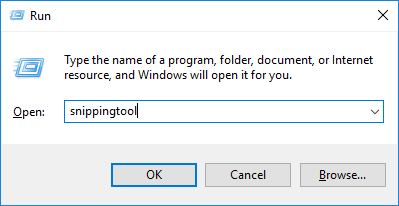 Use Snipping Tool to Take Screenshots in Windows