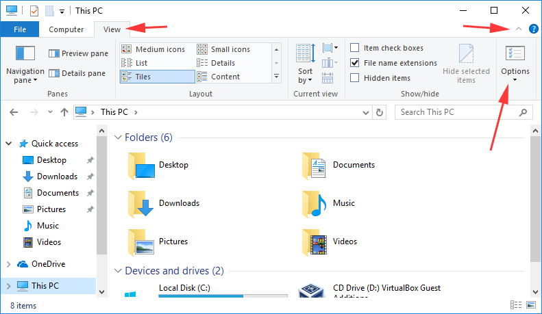 How to show Hidden Files and Folders for Windows 10