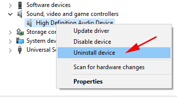 Skype Problem with Playback Device